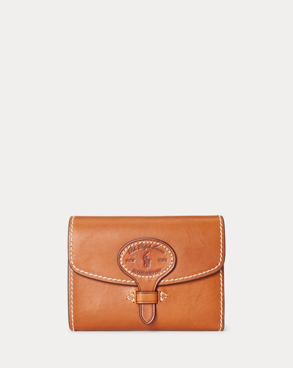 Kompakte Brieftasche aus Wolle
