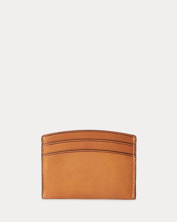 Vachetta Leather Card Case