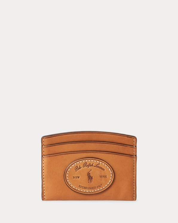 Vachetta Leather Card Case