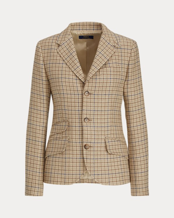 Blazer in tweed