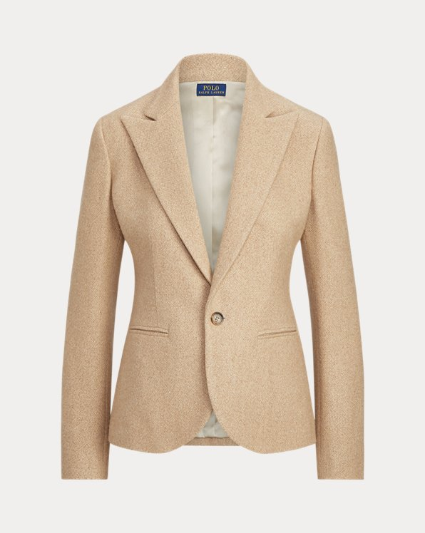 Brushed Wool Blazer