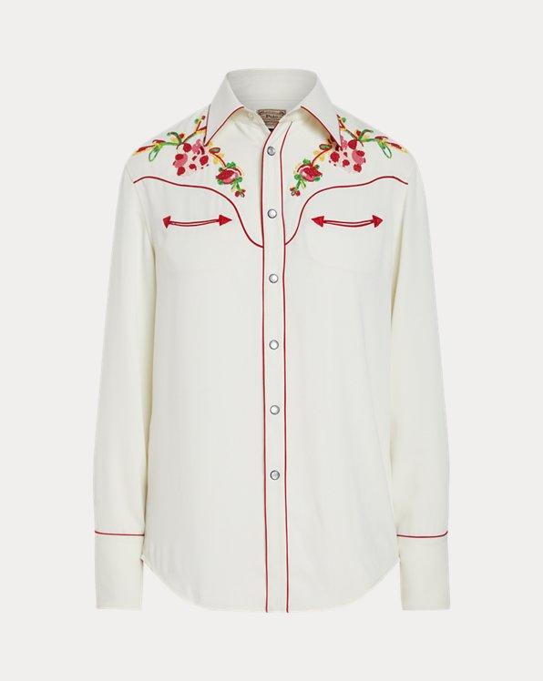 Beaded Western Shirt