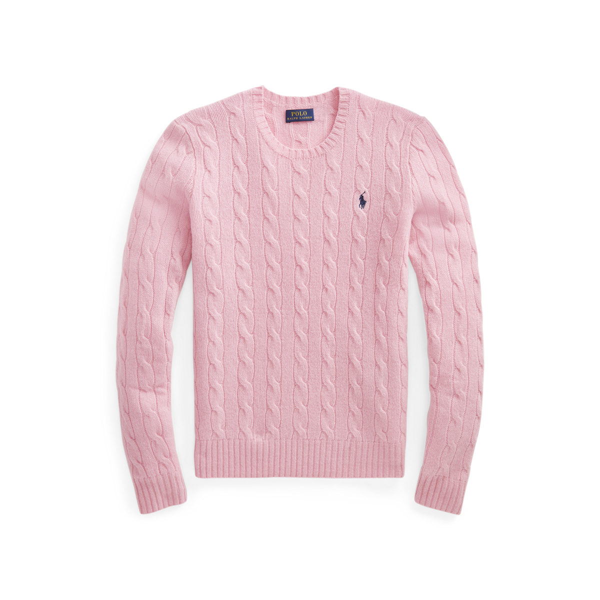 Cable Wool-Blend Sweater