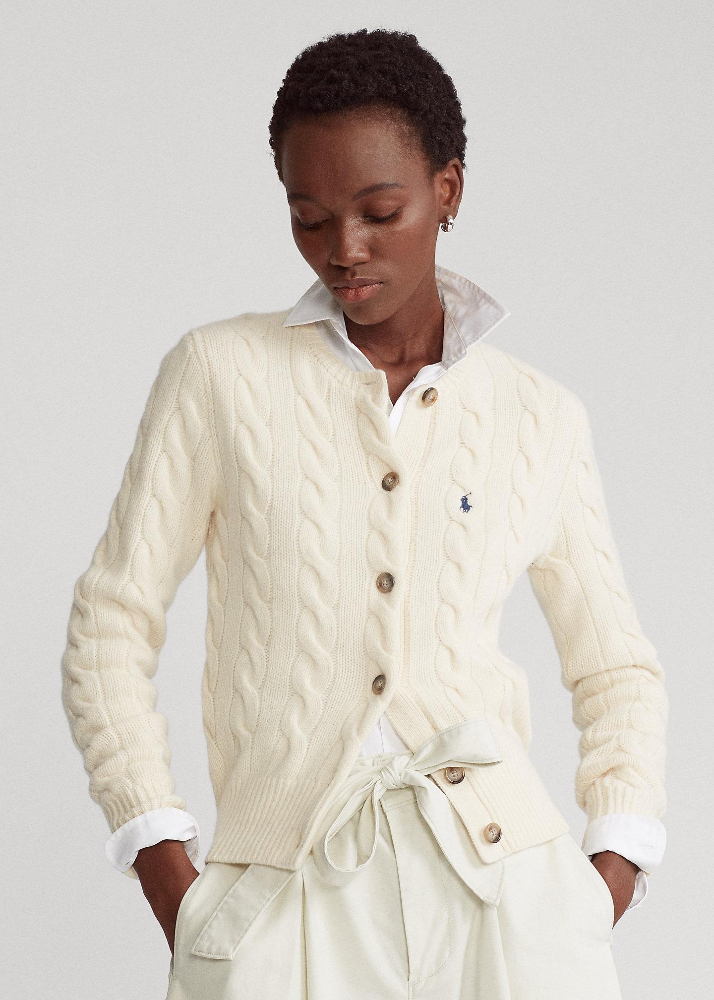 Polo Ralph Lauren Cardigan in misto lana con bottoni 1