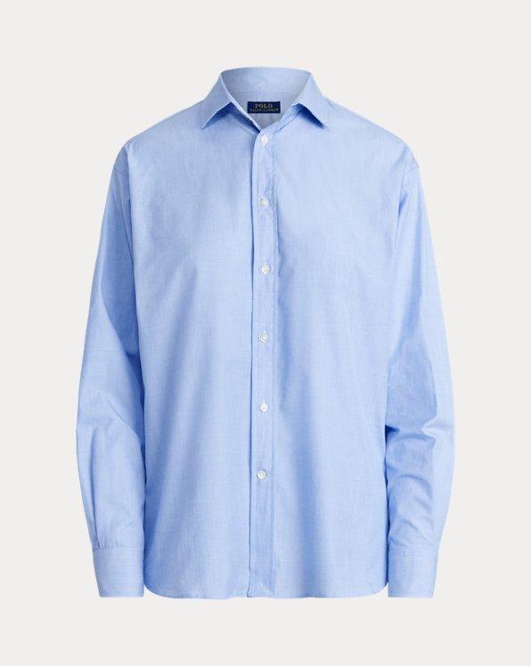 Cotton High-Low Shirt