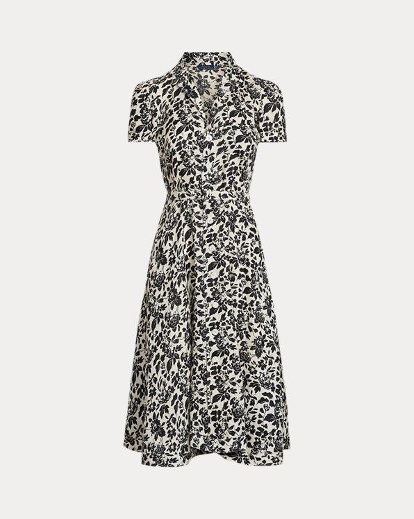 Floral Linen Midi Dress