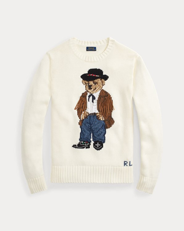 Cowboy Polo Bear Jumper