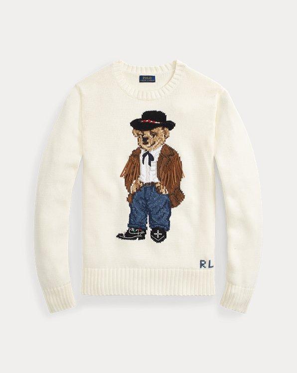Pullover mit Cowboy Polo Bear