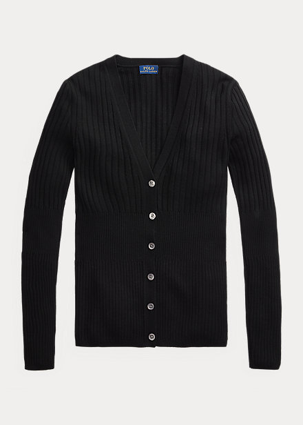 Polo Ralph Lauren Ribbed Wool Cardigan