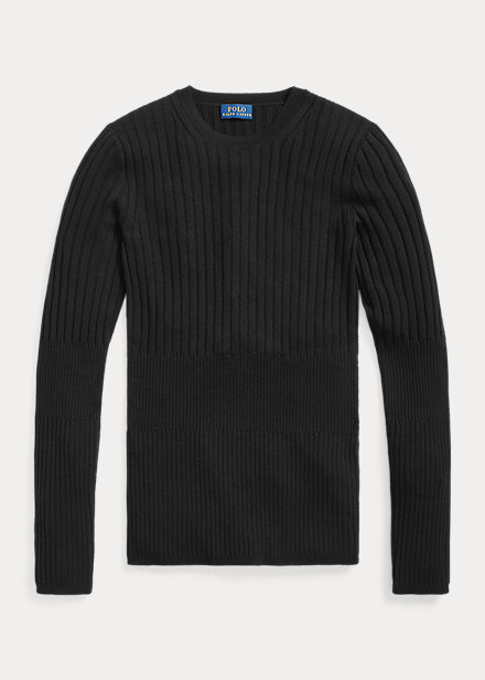 Polo Ralph Lauren Ribbed Wool Crewneck Sweater
