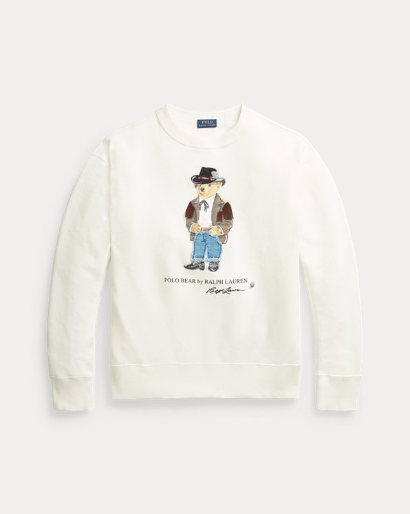 Sweatshirt mit Cowboy Polo Bear