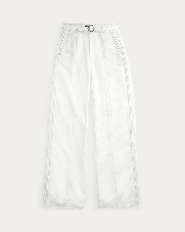 Jeans Margery a gamba larga