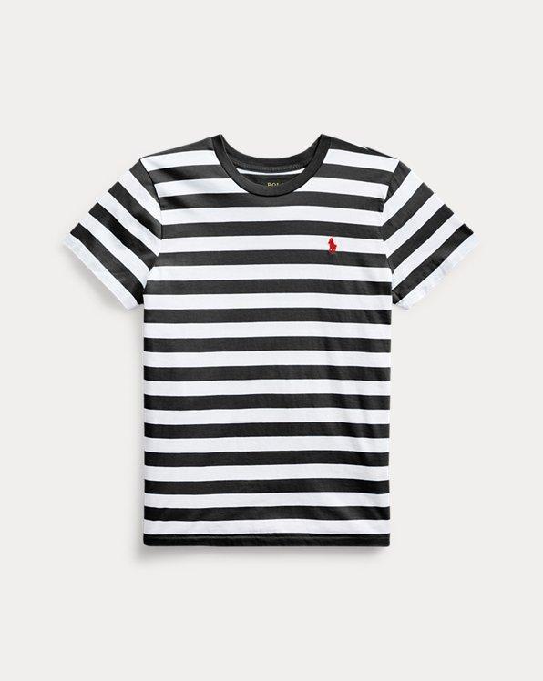 T-shirt rayé en jersey de coton