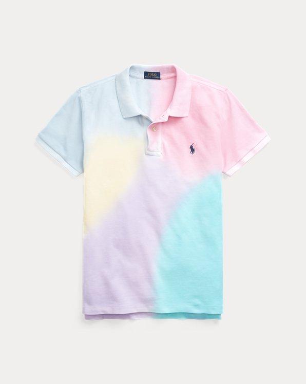 Classic Fit Tie-Dye Polo Shirt
