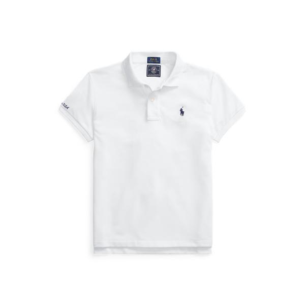 Ralph Lauren Team Usa Earth Polo Shirt In White
