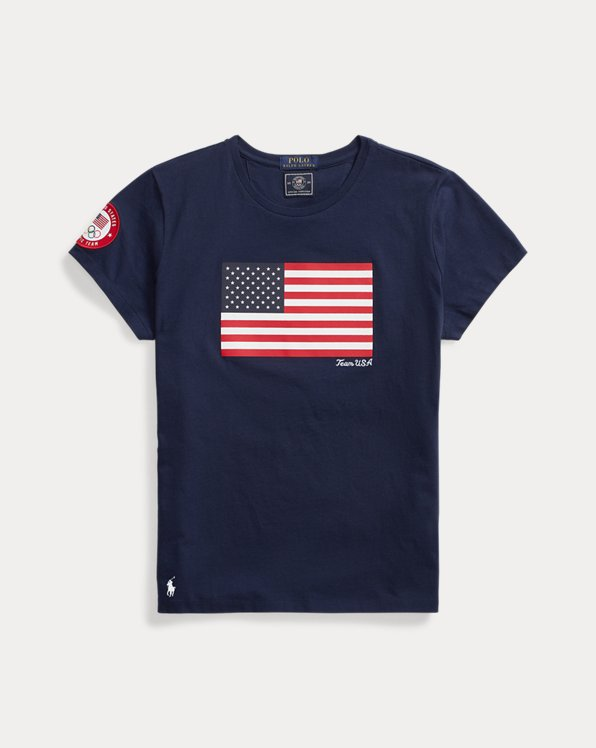 Team USA One-Year-Out Flag Tee