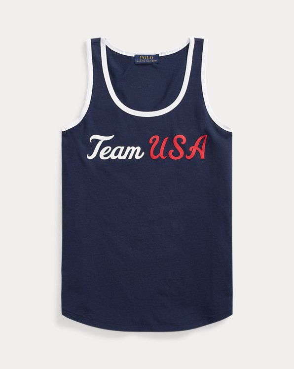 ECOFAST Pure Team USA Jersey Tank Top