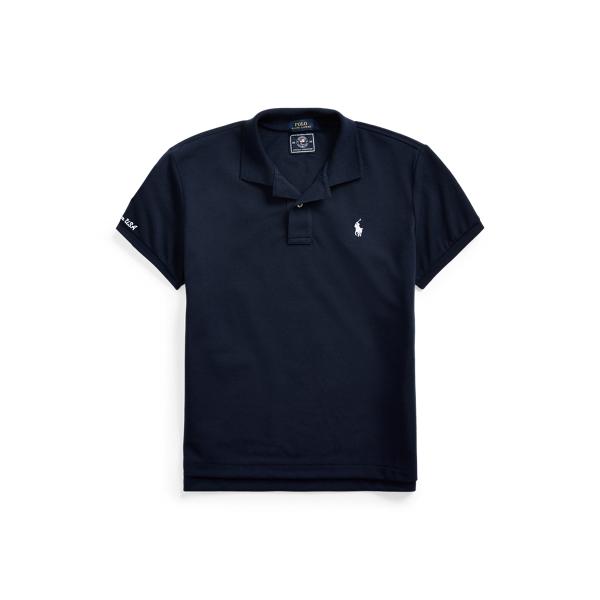 Ralph Lauren Team Usa Earth Polo Shirt In Blue