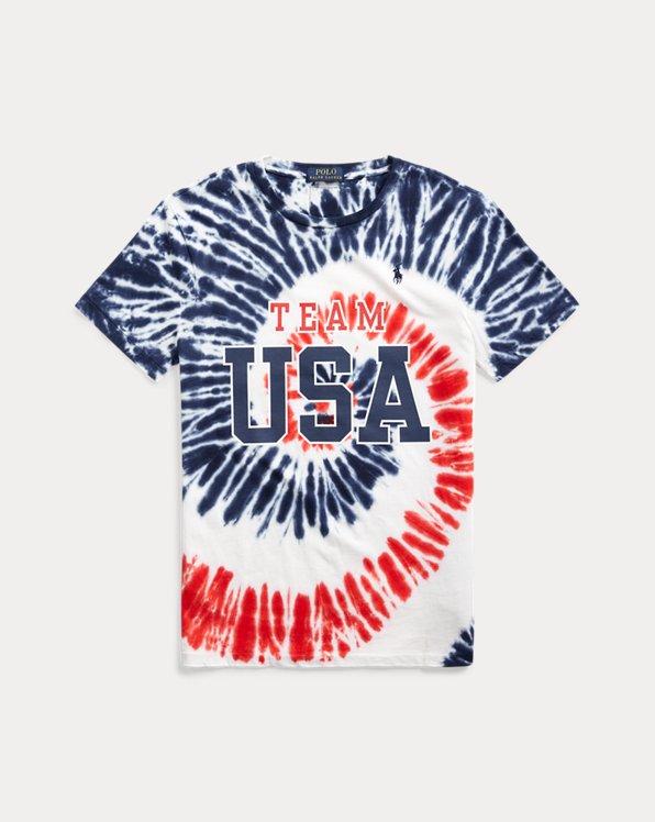 Team USA Tie-Dye Jersey T-Shirt