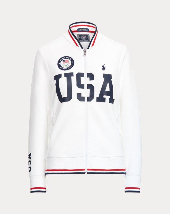 Team USA Bomber Track Jacket