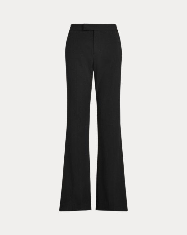 Wool Flare Trousers