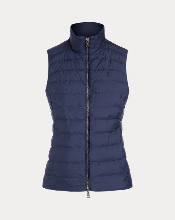 폴로 랄프로렌 조끼 Polo Ralph Lauren Packable Vest,Aviator Navy