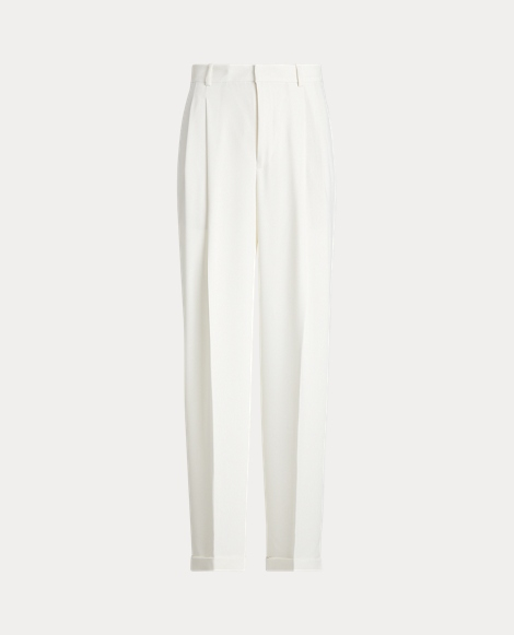 Satin Wide-Leg Trouser