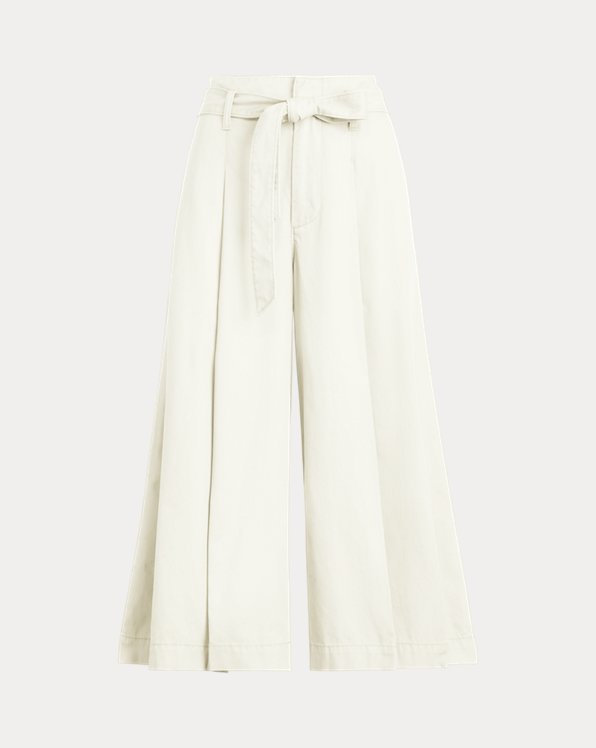 Wide-Leg Chino Trouser