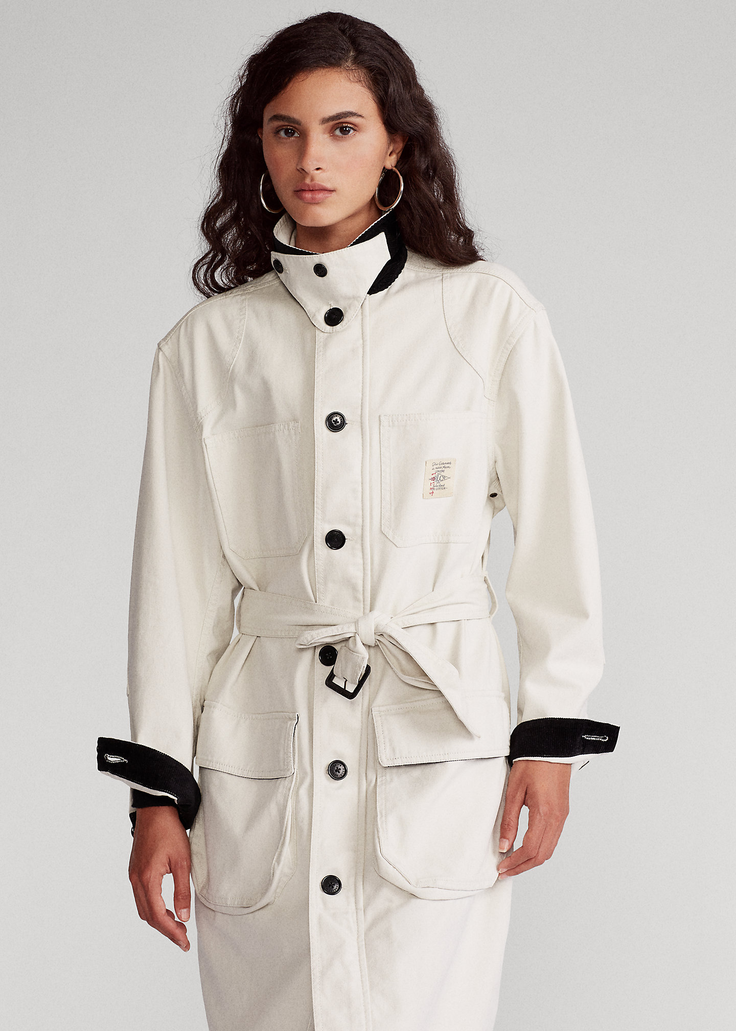 Polo Ralph Lauren Trench in tela di cotone 1
