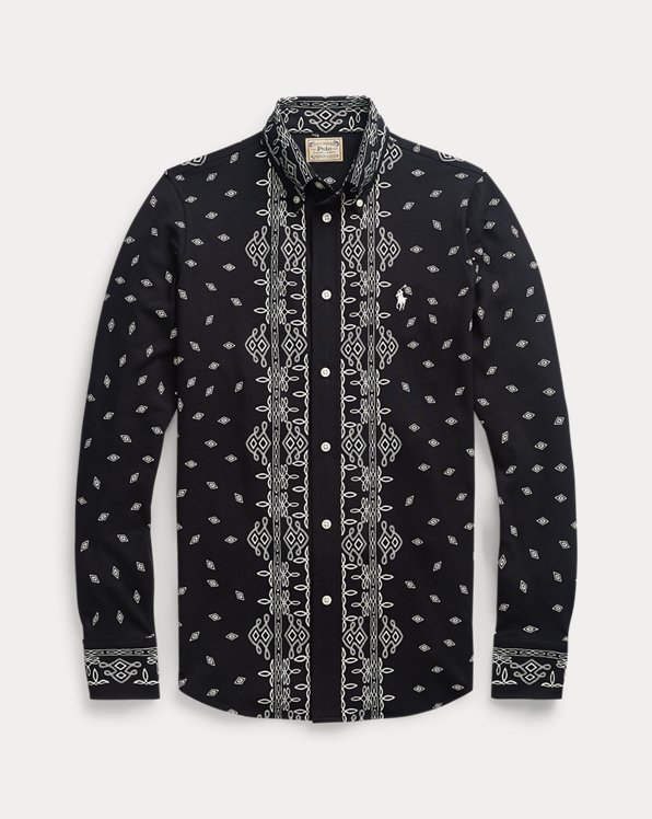 Bandanna-Print Cotton Shirt