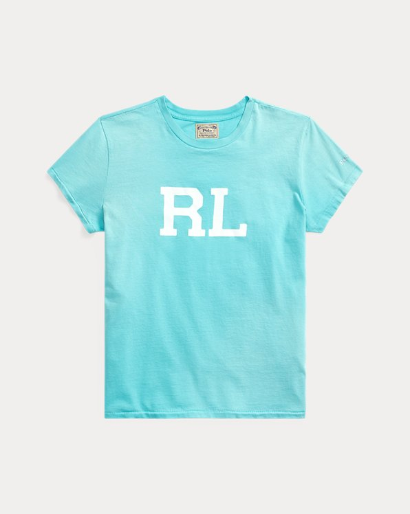 RL-T-Shirt aus Baumwolljersey