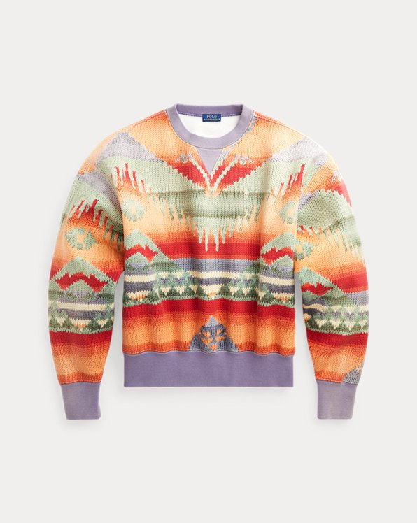 Southwestern Fleece Sweatshirt