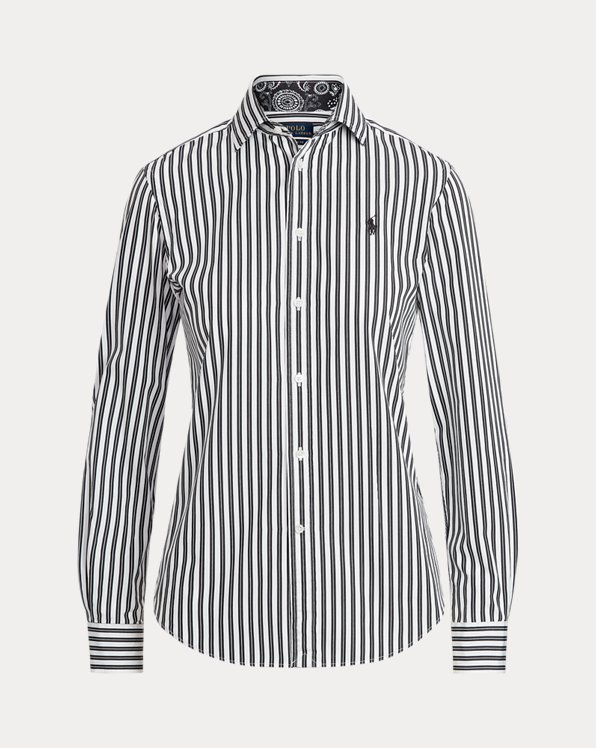 Camicia in cotone Classic-Fit