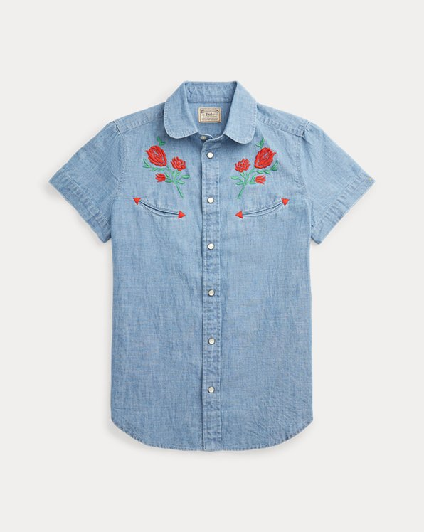 Embroidered Cotton Shirt