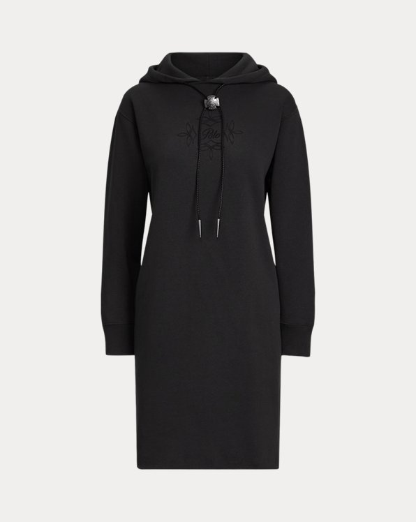 Bolo Fleece Hoodie Dress