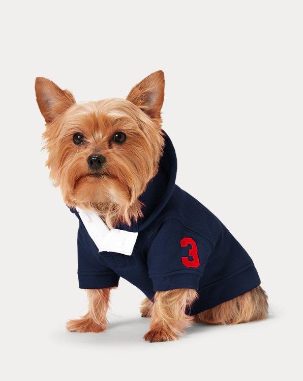 Fleece-Kapuzenshirt für Hunde