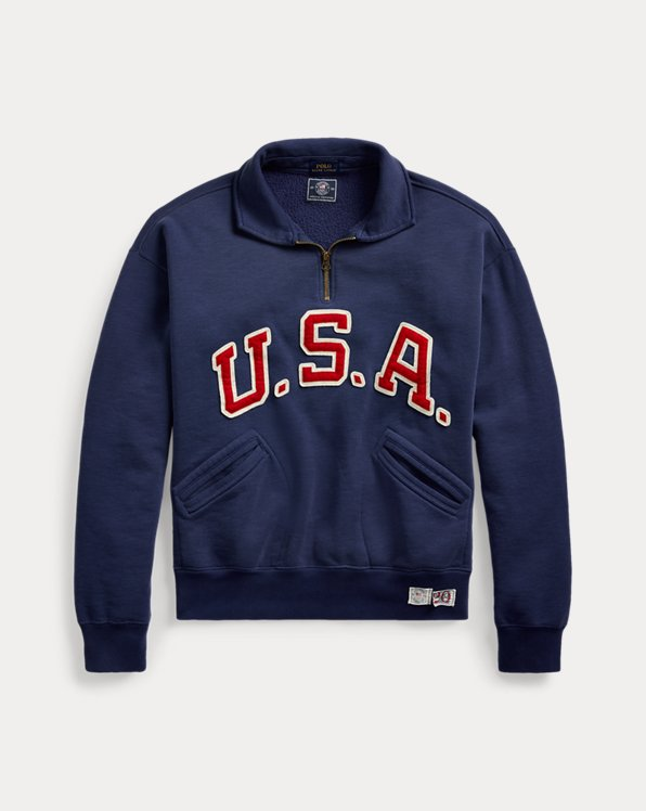 Team USA One-Year-Out Fleece Pullover