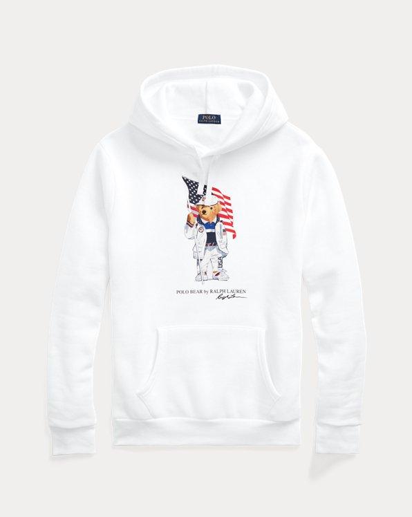 Team USA Polo Bear Hoodie