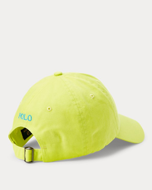 Cotton Chino Neon Ball Cap