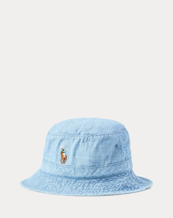 Chambray Bucket Hat