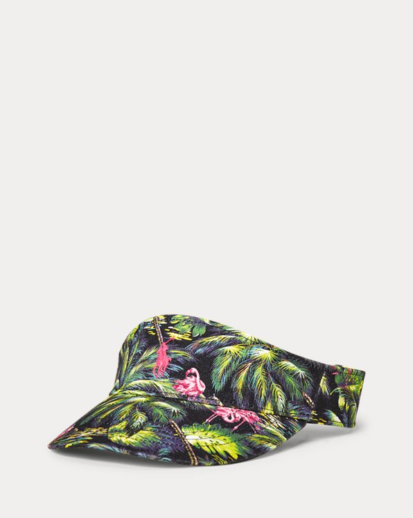 Tropical Cotton Chino Visor
