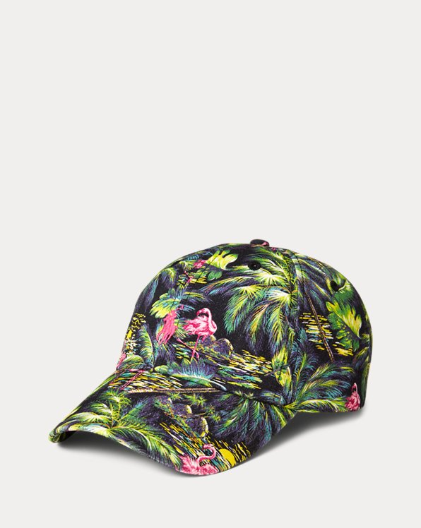 Tropical Cotton Chino Ball Cap