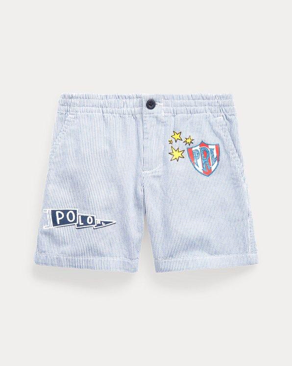 Polo Prepster Striped Short