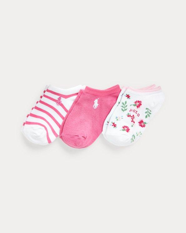 Floral Low-Cut-Sock 3-Pack