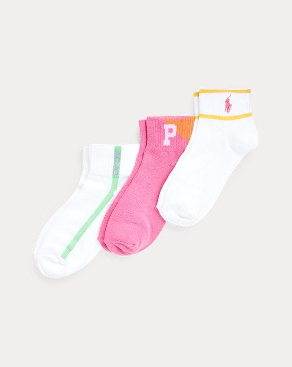 Quarter-Length-Sock 3-Pack