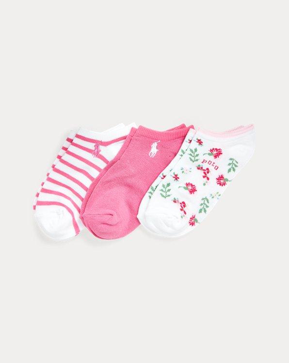 Floral Low-Cut Sock 3-Pack
