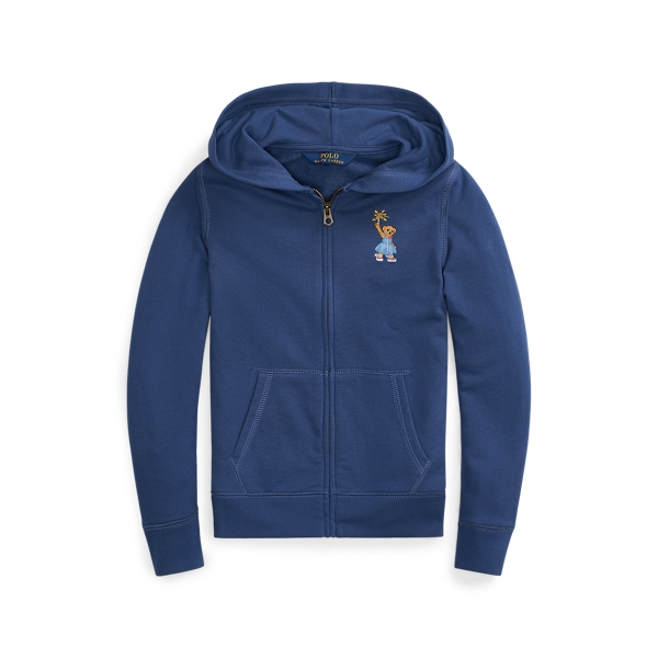 폴로 랄프로렌 Polo Ralph Lauren Sparkler Bear Terry Hoodie,Federal Blue