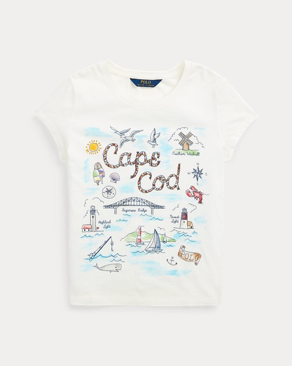 Cape Cod Cotton Jersey Tee