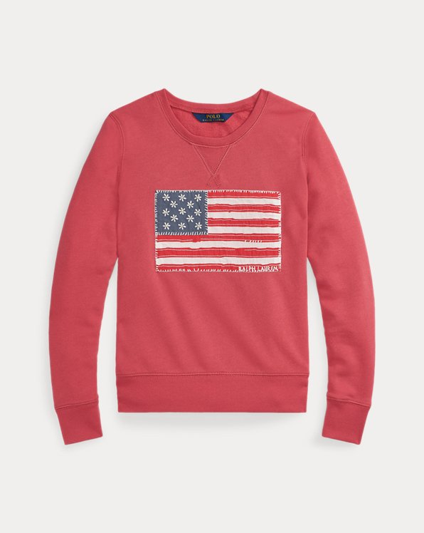Flag French Terry Pullover