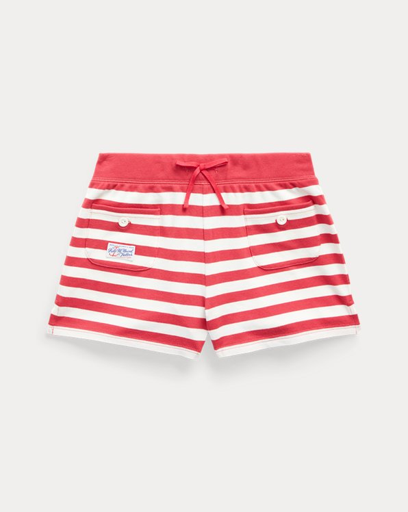 폴로 랄프로렌 Polo Ralph Lauren Striped Stretch Mesh Short,Nantucket Red Multi